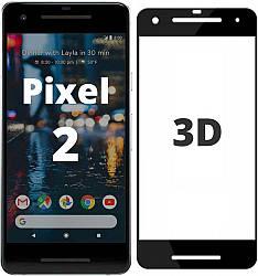 3D стекло Google Pixel 2 (Защитное Full Cover) (Гугл Пиксель 2)