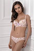 Комплект женского белья балконет push-up в цветочек Jasmine (Жасмин) Martlet 1149/94 LEXY