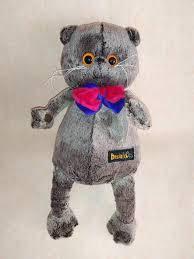 М'яка, популярна іграшка, кіт, басік, висока якість, працюємо від виробника