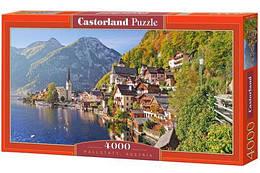 """Пазлы """"Хальштадт, Австрия"""", 4000 элементов  (пейзаж, природа, лес, архетектура, горы, горный пейзаж)"""
