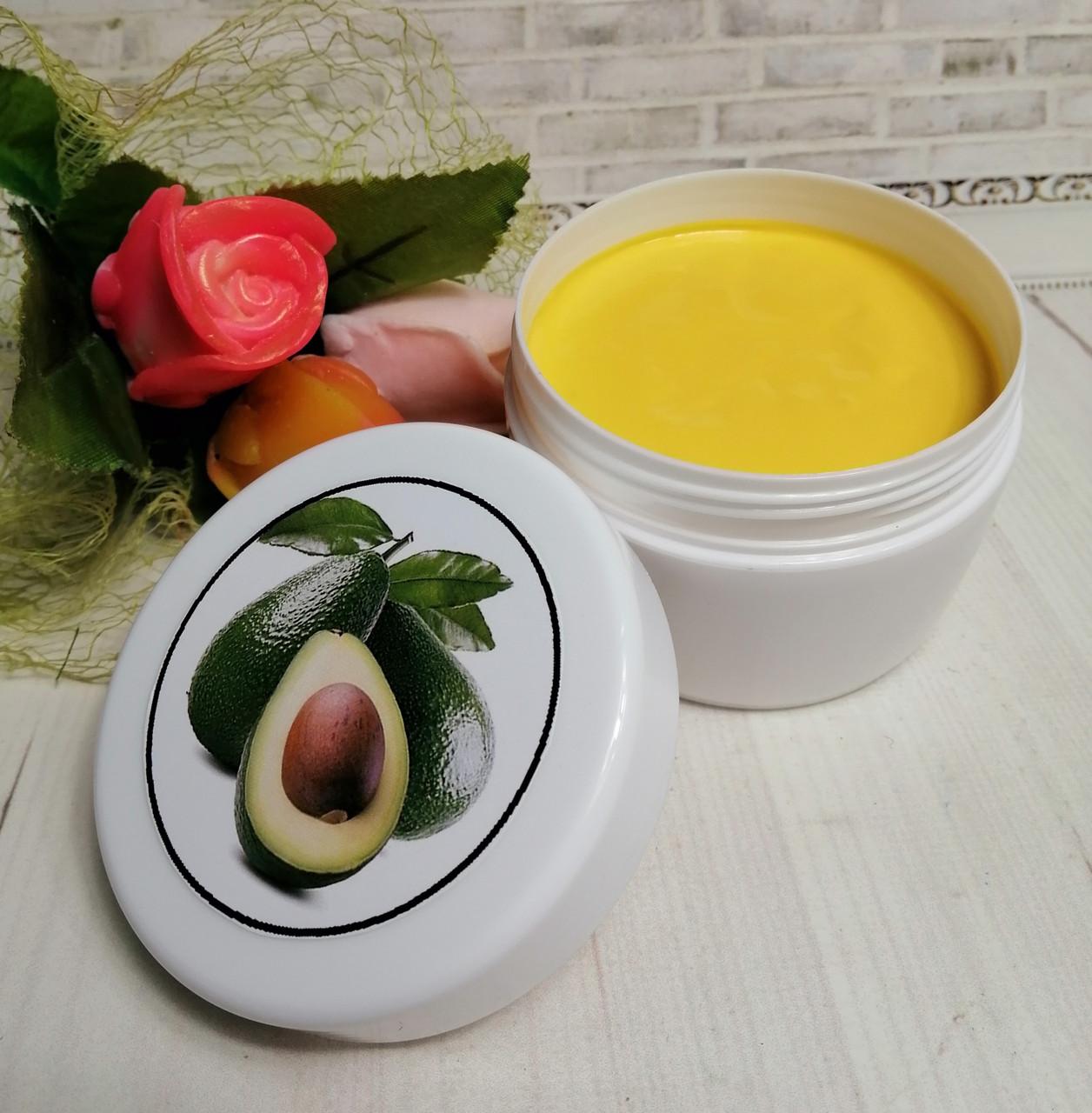 Крем для тела с маслом авокадо, облепихи и мочевиной 10%