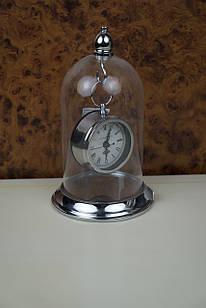 Годинник сріблясті круглі