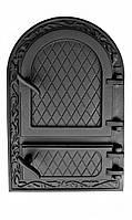 Дверки чугунные ZL AR ГЕРМЕТИЧНЫЕ. Дверцы для печи и барбекю, фото 1