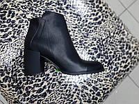 Ботинки на среднем каблуке