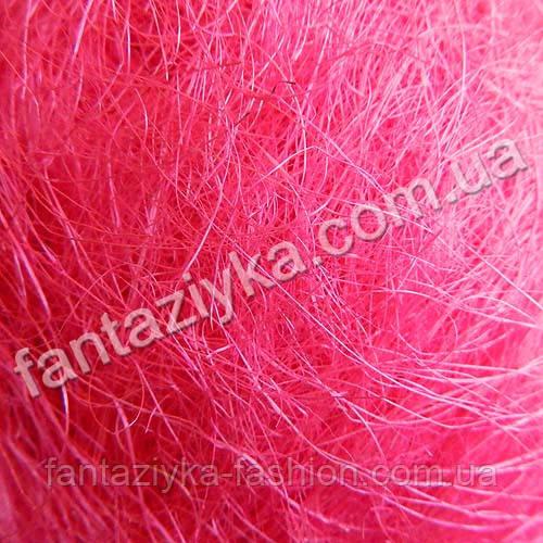 Натуральный сизаль 40г, ярко-розовый