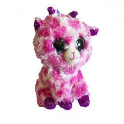 """Мягкая игрушка """"Глазастик: розовый жирафик"""""""