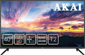 Телевизор Akai UA40LEP1T2+Бесплатная доставка!