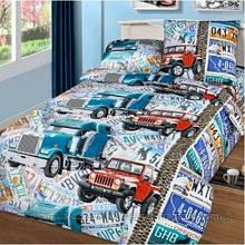 Комплект детского постельного белья Автобан Nova Postil бязь