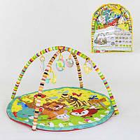 Коврик для младенцев A 129 (18) 5 подвесок-погремушек, в сумке  [Сумка]