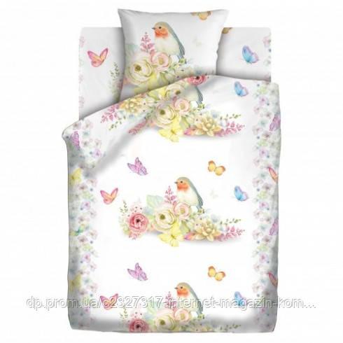 Комплект детского постельного белья Птичка Nova Postil поплин