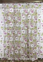Тюль Хризантема, (Кристалон Печать), фото 3