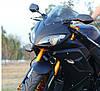 Зеркала на спорт мотоцикл под обтекатель многоугольные, фото 4