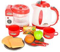 Набор бытовой техники 5229 (чайник, соковыжималка, продукты, посуда)