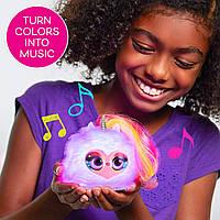 Мягкая интерактивная игрушка единорогПикси Люмиз Помзис Pomsies Lumies Rainbow- Pixie Pop