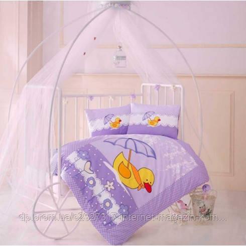 Дитяче постільна білизна в ліжечко Aran Clasy Duck ранфорс