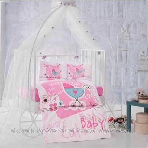 Детское постельное белье в кроватку Aran Clasy Lovely Baby ранфорс