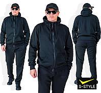 Качественный спортивный костюм с трикотажа трехнитка