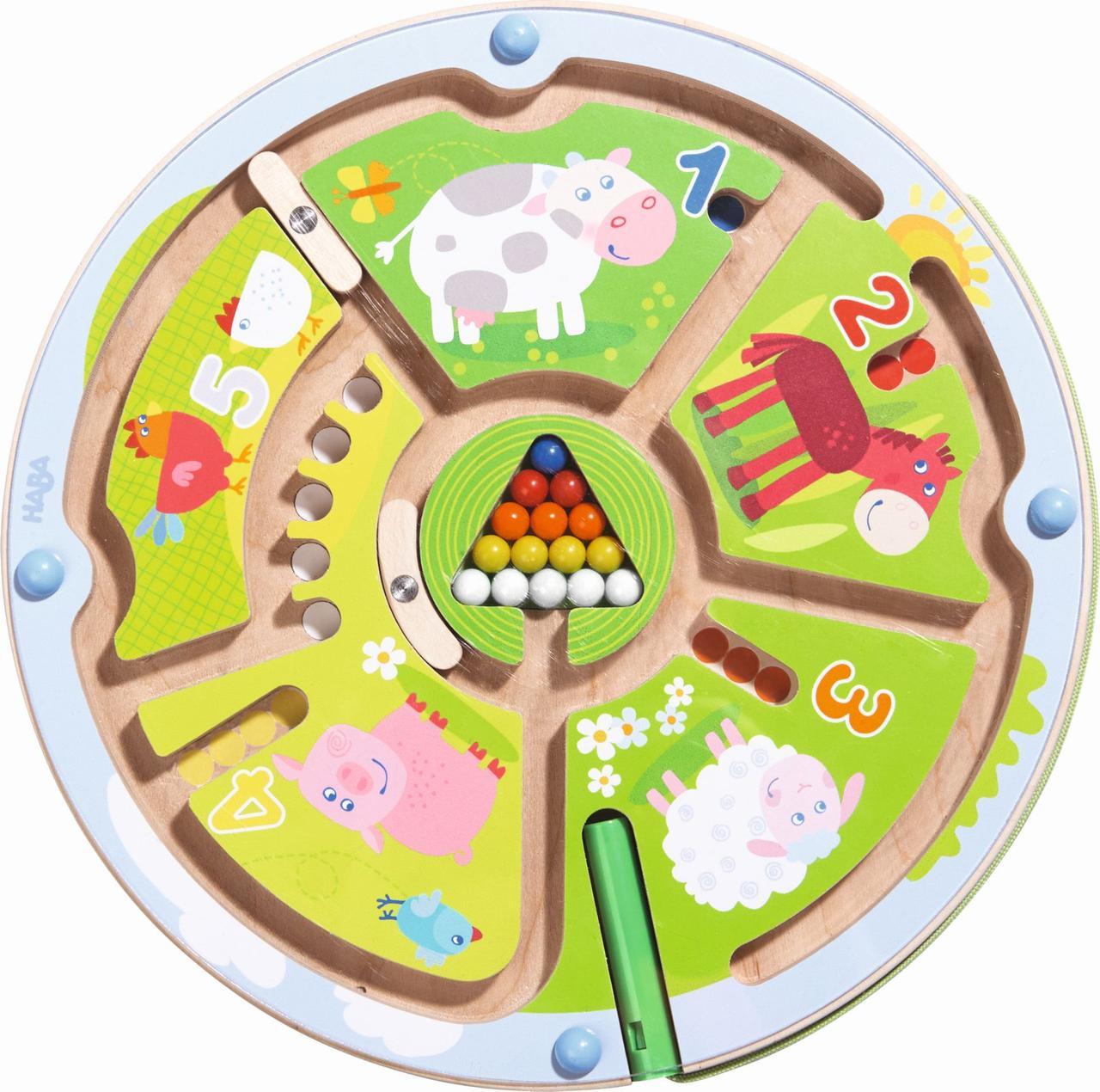 "Haba - Магнитная игрушка-сортер ""Счетный лабиринт"""