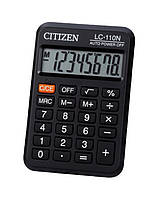 Калькулятор Citizen карманный LC-110N 87х58мм, 8 разрядов