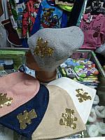 Зимняя детская подростковая шапка р.54 - 58