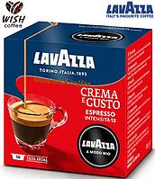 Кофе в капсулах Lavazza A Modo Mio Crema e Gusto (Int = 12; 16 капсул; Espresso; 30% Arabica + 70% Robusta)