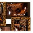 Деревянная мультирамка для фото 13 в 1 Руноко Симметрия Золотой шоколад, фото 2