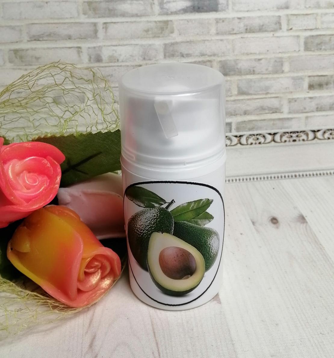 Увлажняющий ночной крем для лица с маслом авокадо и облепихи