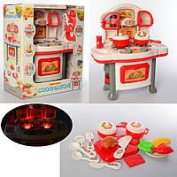 Детская игровая Кухня (плита, духовка, продукты, посуда) 3700