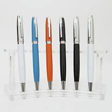 Ручка шариковая Baixin  BP-837  поворотная в ассортименте.