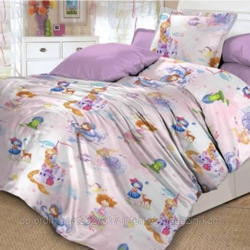 Комплект детского постельного белья Маленькая принцесса Nova Postil поплин