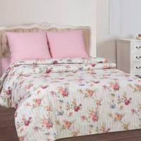 Комплект постельного белья Комфорт-текстиль поплин Розовое вдохновение