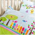 Постельное белье в кроватку Идея Bird Garden, фото 2
