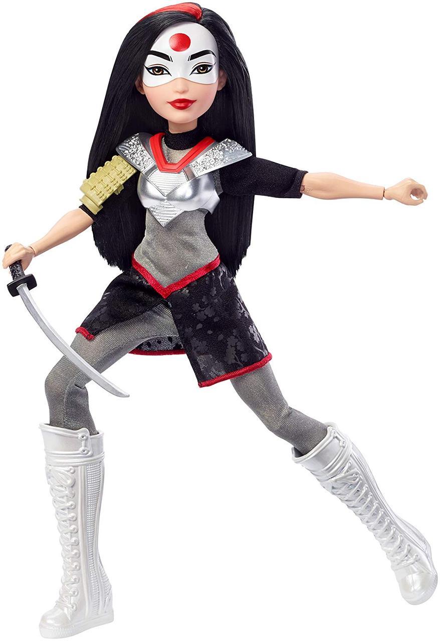 Кукла DC Super Hero Girls Катана Супер герои DC Super Hero Girls Katana Оригинал