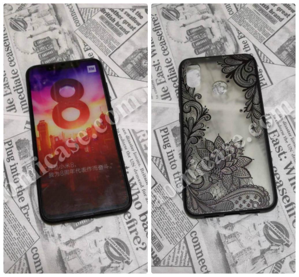 TPU чехол Graphic черный для Xiaomi (Ксиоми) Mi8