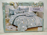 Сатиновая постель Classic в ассортименте полуторный размер., фото 1