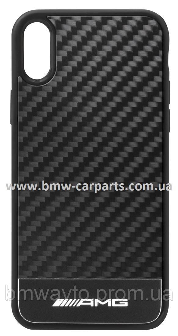 Чехол для iPhone XR Mercedes-AMG Carbon Cover for iPhone® XR