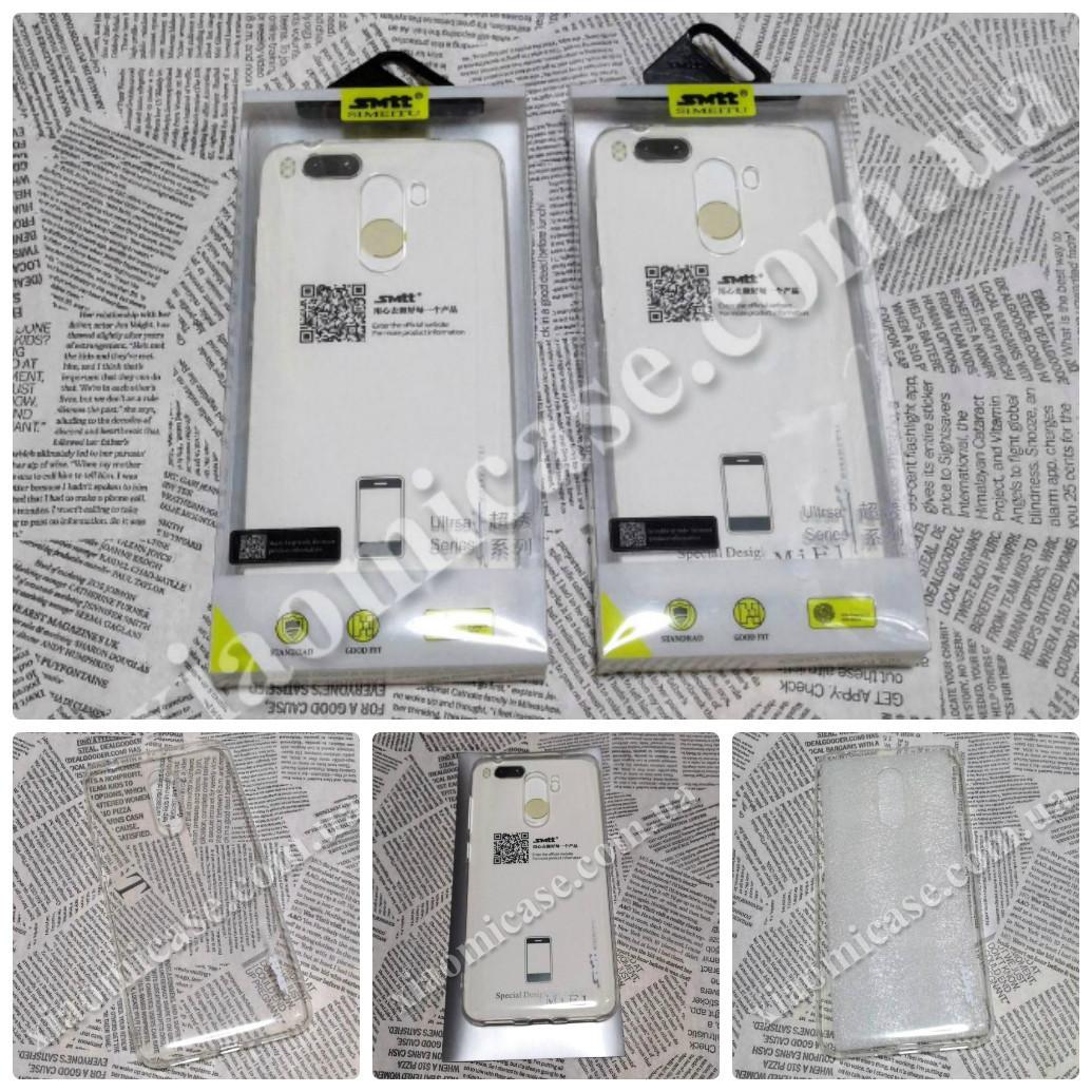 Силиконовый чехол накладка Smtt для Xiaomi (Ксиоми) Pocophone F1 прозрачный
