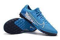 Футбольные сороконожки Nike Mercurial Vapor XIII Pro TF Blue Hero/White/Obsidian