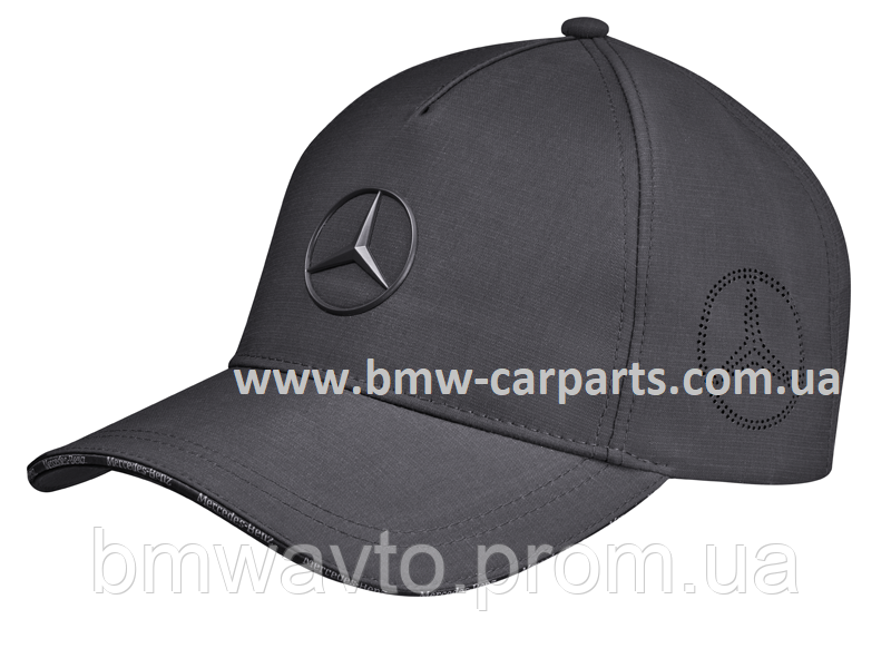 Бейсболка Mercedes Star Logo Cap, Anthracite