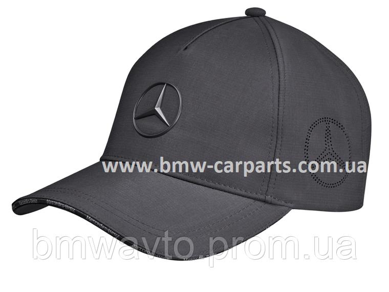 Бейсболка Mercedes Star Logo Cap, Anthracite, фото 2