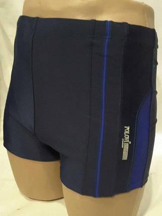 Шорты-плавки мужские POLOVI 6220 Б синий (есть 48 50 52 54 размеры), фото 2