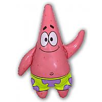 Фольгированный шар  Патрик 79см х 60см Разноцветный