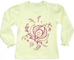 """Блуза для девочки """"Гжель"""""""
