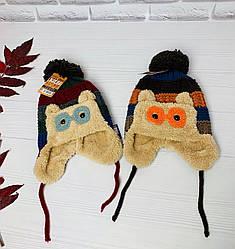 Суперские детские теплые шапки яркие и веселые