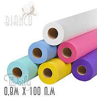 Простыни Doily (25г/м²) рулон 0,8м*100п.м  (цвета)