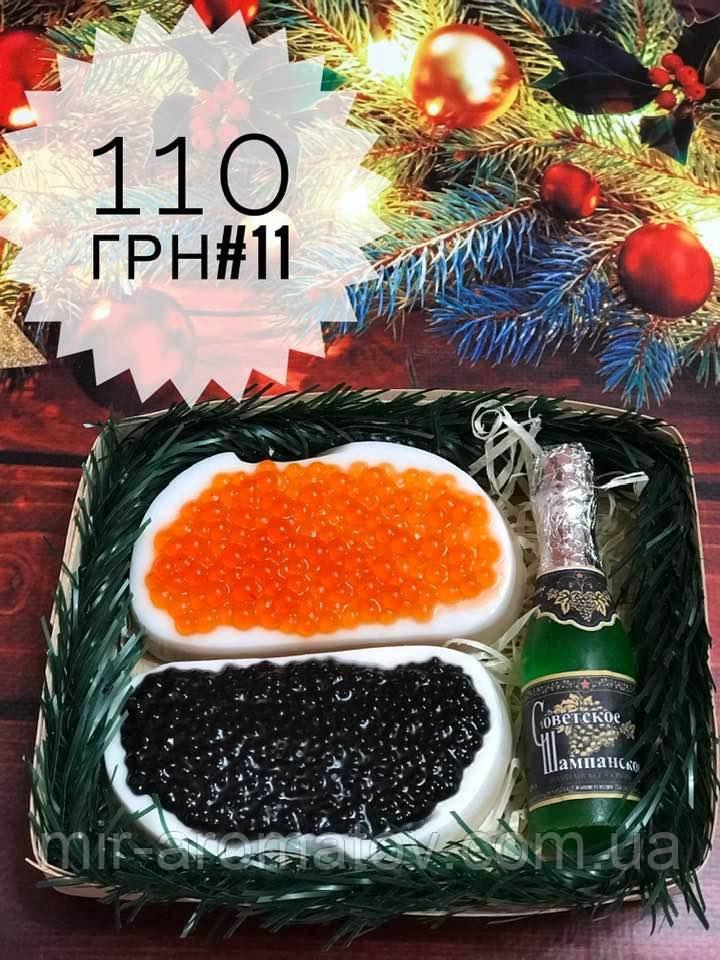 Новогодние наборы мыла ручной работы№11