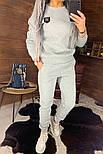 Утепленный женский брючный костюм на флисе с шивроном 4410359, фото 8