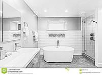 Душевые углы Стеклянные двери и Шторки для ванн