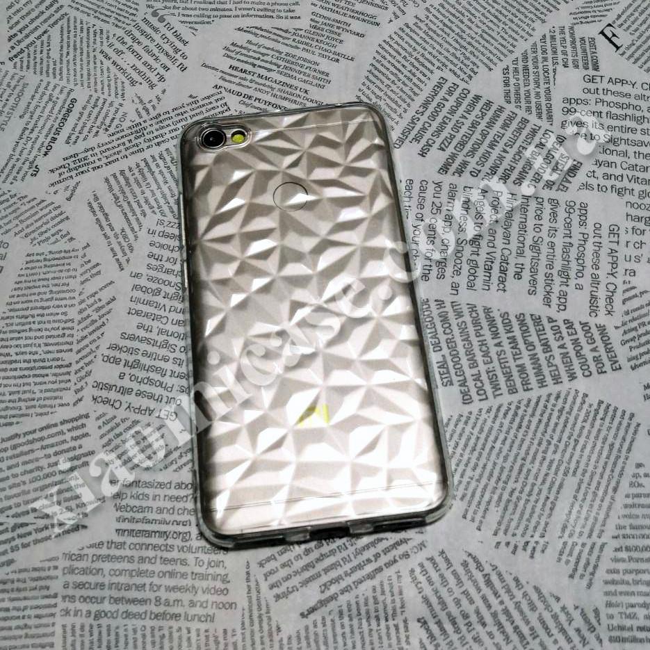 Силиконовый чехол Crystal для Xiaomi (Ксиоми) RedMi Note 5A