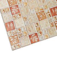 Панель ПВХ МозаЇка осіній листок 955х480мм.